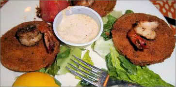 Fried Green Tomatoes with Dip
