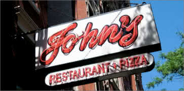 Johns on 12th in New York