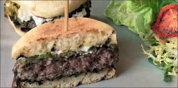 Grilled Lamb Burger