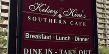 Kelsey and Kims Southern Cafe in Atlantic City
