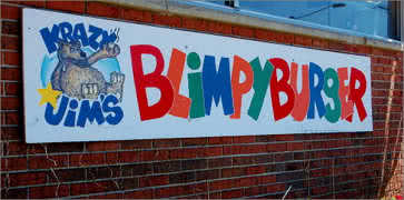 Krazy Jims Blimpy Burger
