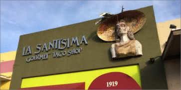 La Santisima Taco Shop