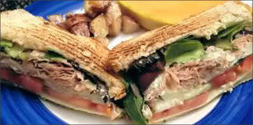 Leaping Lizard Cafe Chicken Salad Recipe