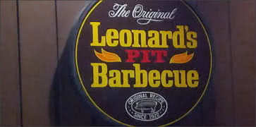 Leonards Pit Barbecue in Memphis
