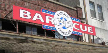 Louie Mueller BBQ in Taylor