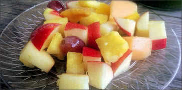 Side of Fruit served with Breakfast