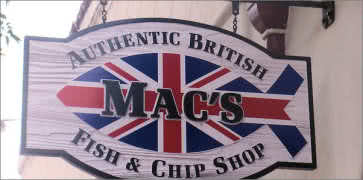 Macs Authentic British Fish and Chip Shop in Santa Barbara