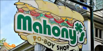 Mahonys Po Boy Shop