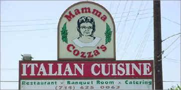 Mama Cozzas in Anaheim