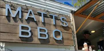 Matts BBQ in Portland