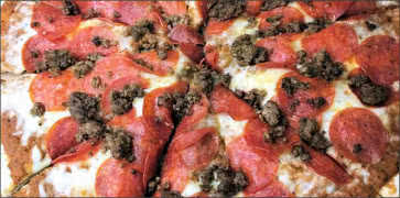 Gluten Free Meat Lovers Pizza