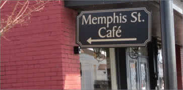 Memphis Street Cafe in Hernando