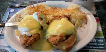Fried Chicken Benedict