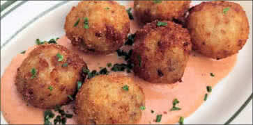 Potato and Oxtail Croquettes