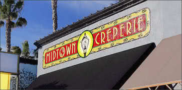 Midtown Creperie in Stockton