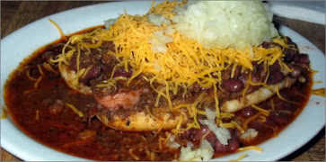 Mikes Chili Parlor Food