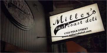 Millers East Coast Deli in San Francisco