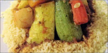 Lamb Couscous with Vegetables