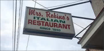 Mrs Robinos in Wilmington