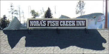Noras Fish Creek Inn in Wilson