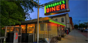O'Rourke's Diner (Middletown, Ct) Diners, Drive-Ins & Dives on