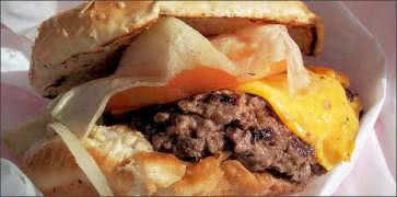 Oinkster Burger