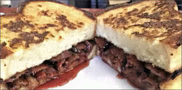 French Toast Bacon Sandwich