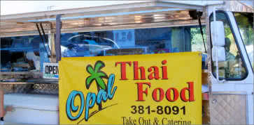 Opal Thai Food in Haleiwa