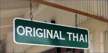 Original Thai Cuisine in Kailua-Kona