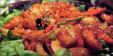 Korean-Style Spicy Chicken