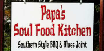 Papas Soul Food Kitchen and BBQ in Euegen