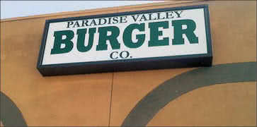 Paradise Valley Burger Company in Phoenix