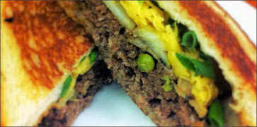Shepards Pie Patty Melt