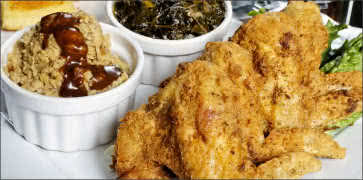 Southern Fried Chicken with Sides