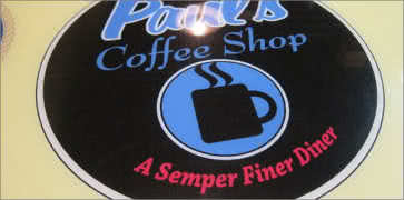 Pauls Coffee Shop in Fountain Valley