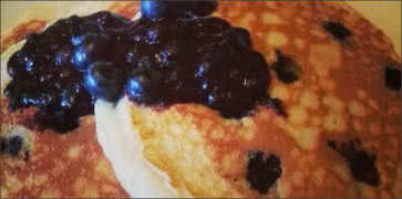 Blueberry Griddlecakes