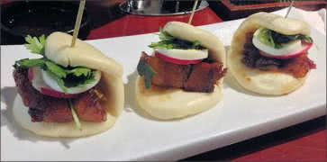 Pork Belly Steam Buns Sliders