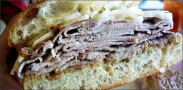Pork Fennel Sandwich