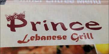 Prince Lebanese Grill in Arlington