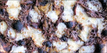 Oxtail Pizza