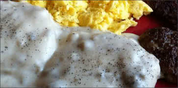 Southern Style Biscuit & Gravy