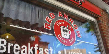 The Red Arrow Diner in Manchester
