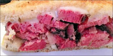 The Reuben Pastrami Sandwich