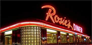 Rosies Diner in Rockford