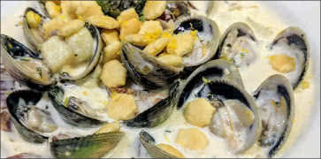 In-Shell Clam Chowder