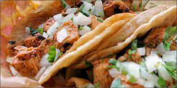 Adobe Chicken Taco