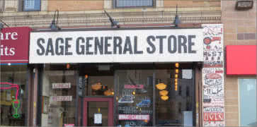 Sage General Store in Long Island City