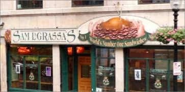 Sam LaGrasses in Boston