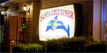 Santa Cruz Diner in Santa Cruz