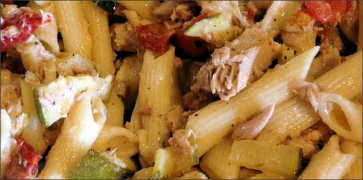 Penne Pasta with Tuna Fish